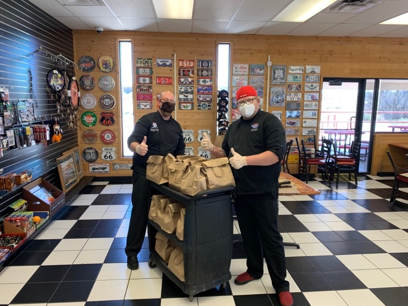 Laguna Burger preps meals for Pueblo of Laguna fire and police dept